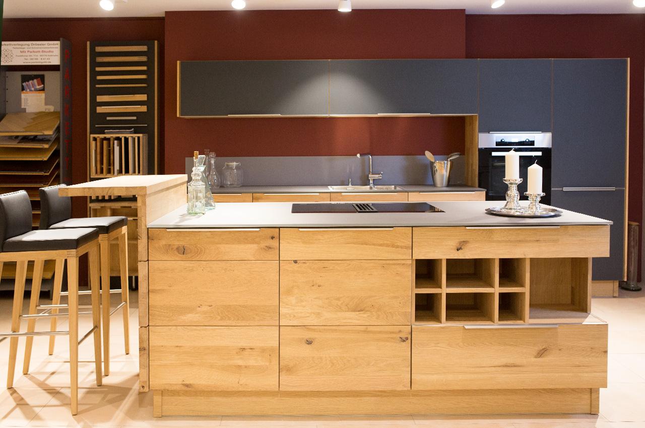 Massivholzküche massivholzküche calezzo küchen kre