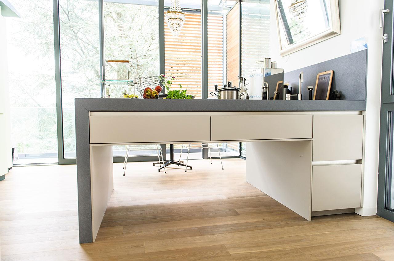s2 achatgrau k chen krampe. Black Bedroom Furniture Sets. Home Design Ideas